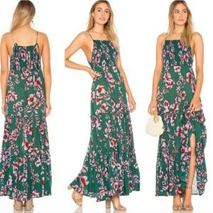 Free People garden party maxi dress M